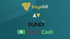 Bitcoin Cash ve Pundi X Bayebit'te!