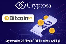 Cryptosa'dan 20 Bitcoin SV Ödüllü Yılbaşı Çekilişi
