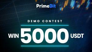 PrimeBit İle Demo Fonları İşlemleri Yaparak 5000 USDT Kazanın!