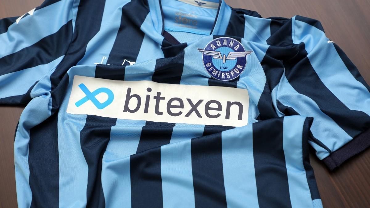 Bitexen Teknoloji Adana Demirspor'un Yeni Sponsoru Oldu