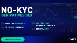 DMEX: 100 Kat Kaldıraçlı, KYC Gerektirmeyen, Merkezsiz Borsa