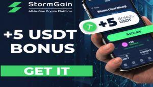 StormGain, Akıllı Telefonlardan Bile Yapılabilen Madencilik İle Madencilik Donanımlarını Gereksiz Kılıyor!