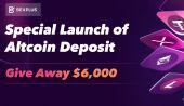 Bexplus Özel Altcoin Yatırma Lansmanı İle 6.000 Dolar Dağıtacak!