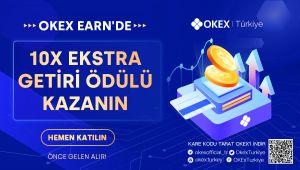 OKEx Earn'de 10 Kata Kadar Ekstra Getiri Ödülü Kazanın