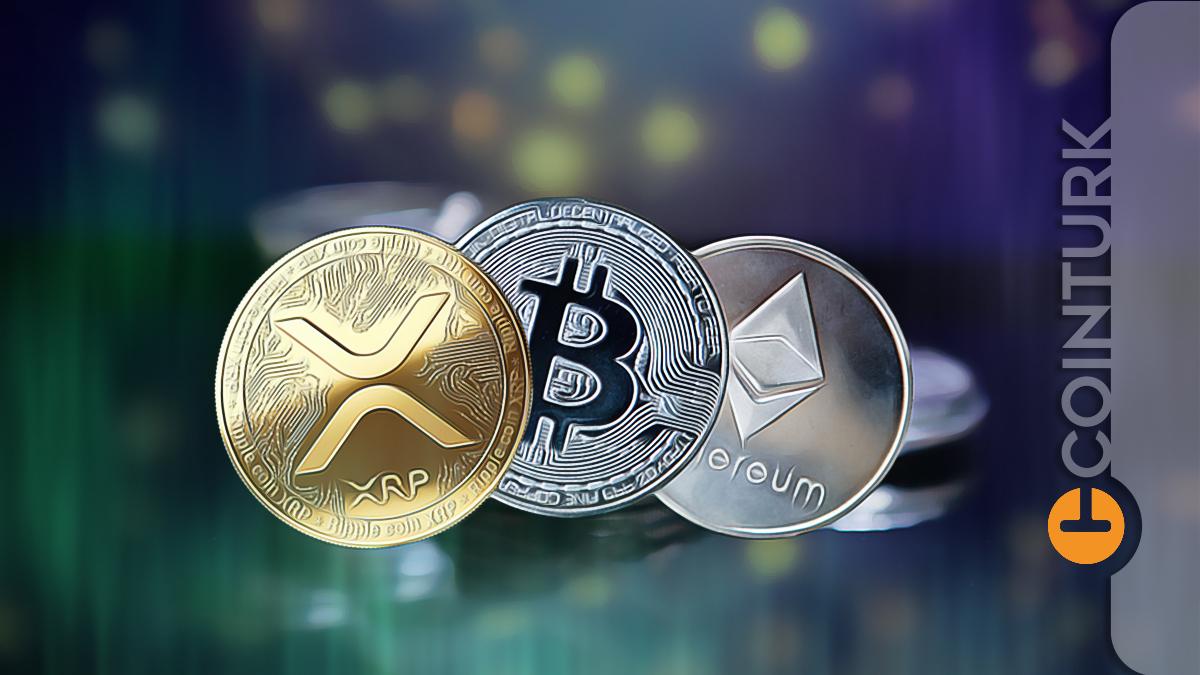 Kripto Paralarda Son Durum Ne? İşte Bitcoin (BTC), Ethereum (ETH) ve Ripple (XRP) Analizi